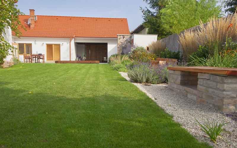 realizácia záhrady u klienta v Beluší